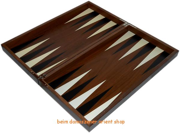 Luxus backgammon aus holz for Miroir 50 x 50