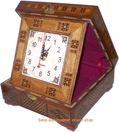 Uhr im Kasten